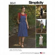 8641 Simplicity Pattern: Misses' Jumpers